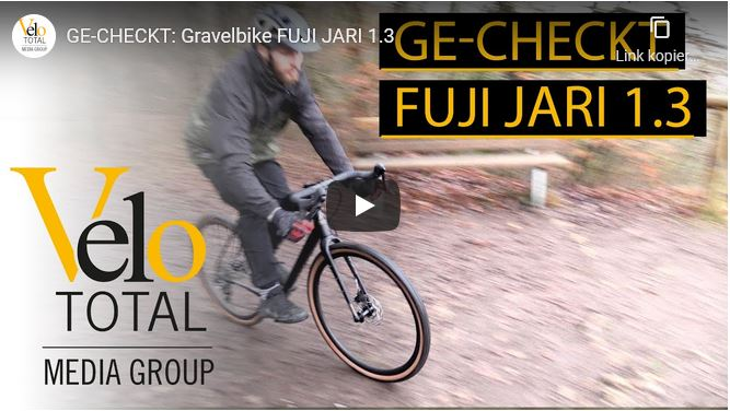 VIDEO - GE-CHECKT: Gravelbike FUJI JARI Carbon 1.3