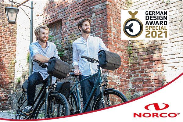 German Design Award 2021 - NORCO Taschen