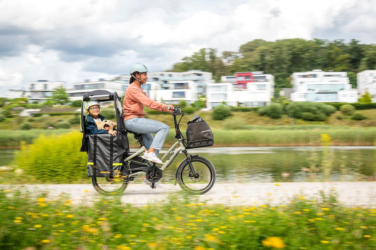 Tern mit neuem modularen Zubehör für Familien-Fahrräder