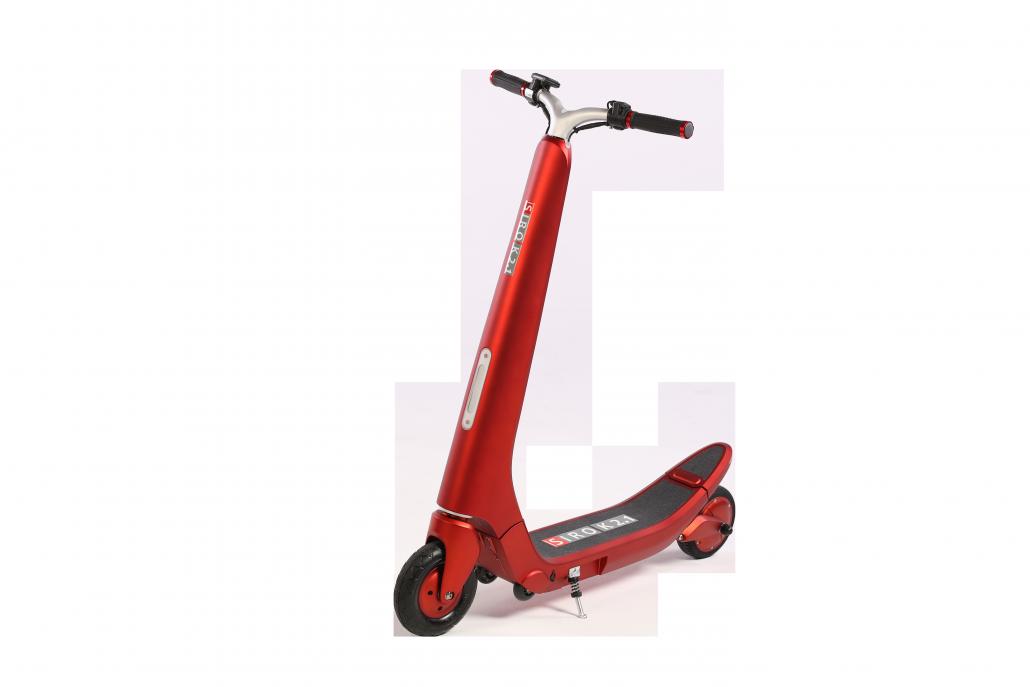 Kick-Scooter SIRO K 2.1 (Art.-Nr. 21220) rot matt