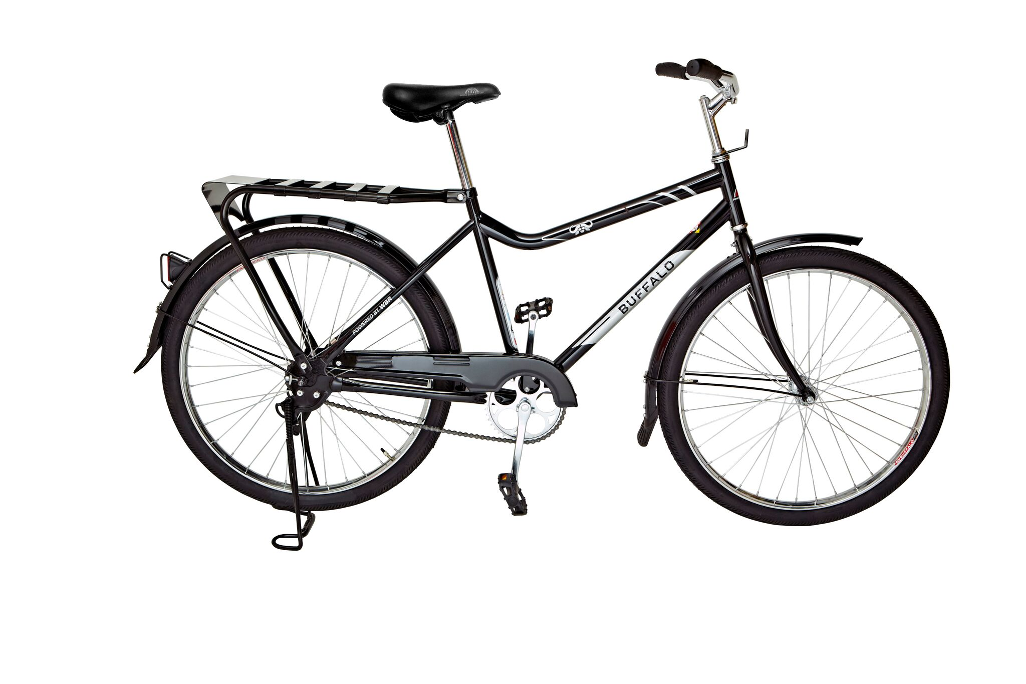 ©WorldBicycle Relief/ Das Buffalo-Fahrrad ist eigens für den Gebrauch in ländlichen Regionen von Entwicklungsländern konzipiert. Es ist robust, wartungsarm und hat eine Lastenkapazität von 100 kg plus Fahrergewicht.