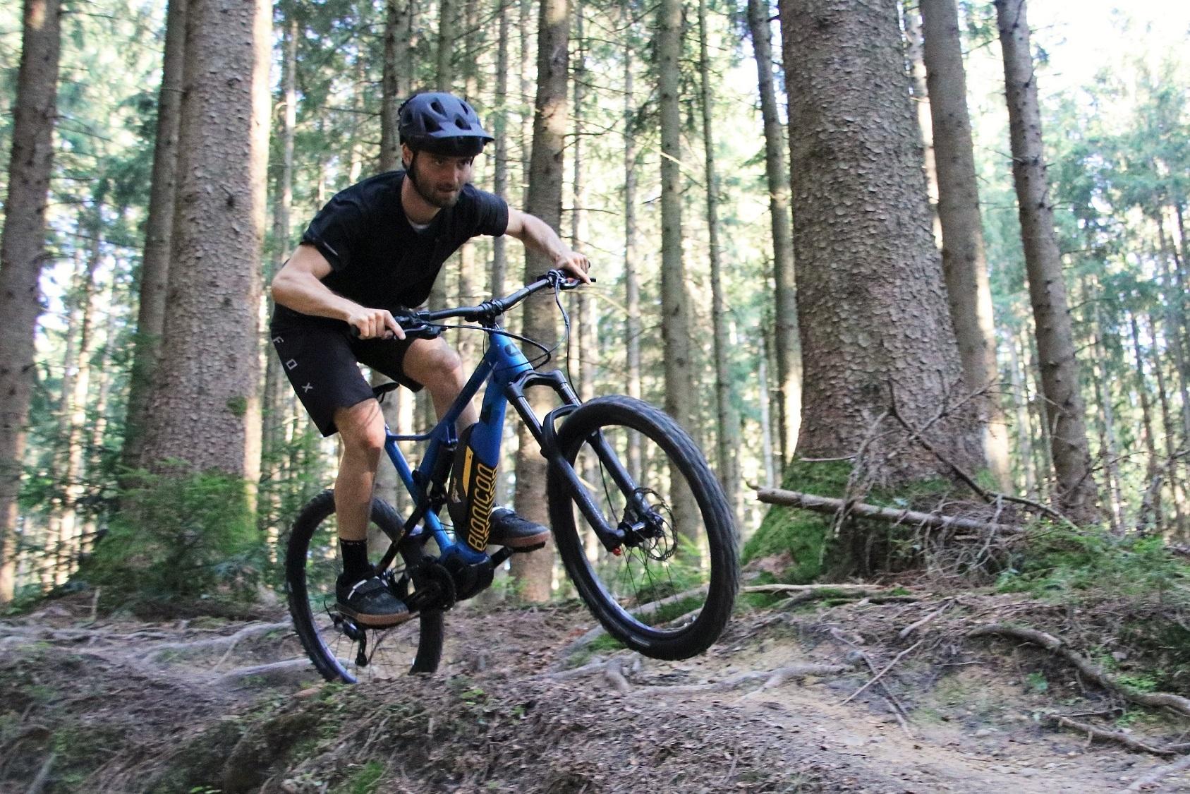 BIONICON mit seinen sportlichen Mountainbikes