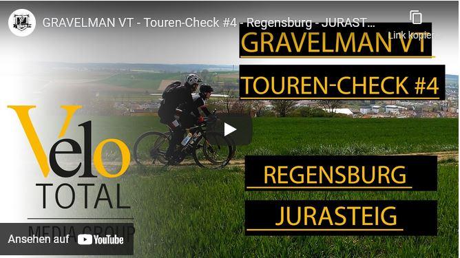 VIDEO: GRAVEL BIKE VLOG - Tour #4 — Regensburg - JURASTEIG