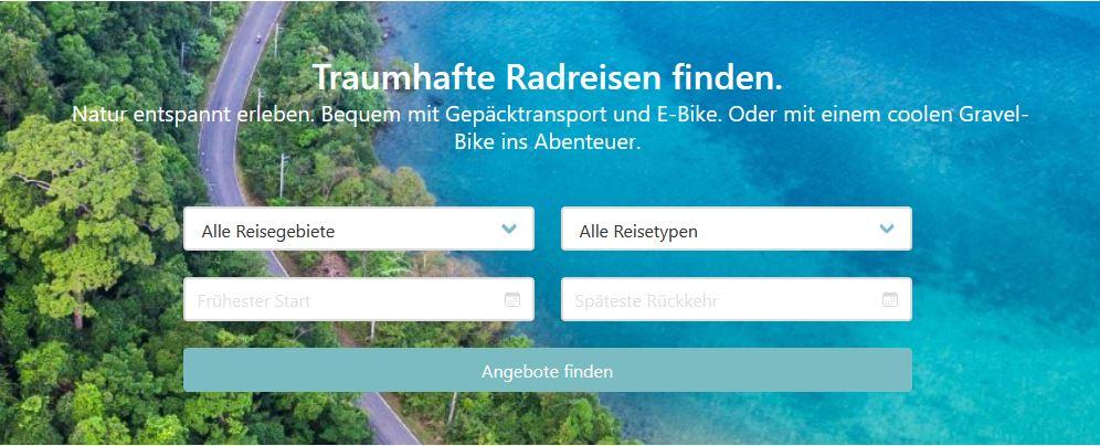 Radreisen auf dem neuen Online-Marktplatz cyclelo.de finden