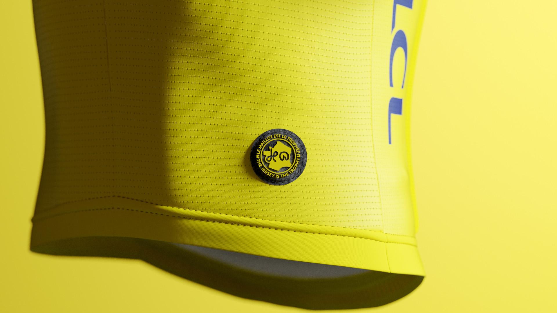 Jerseys der Führenden der Tour de France 2022 kommen von Santini