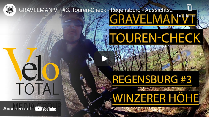 VIDEO: GRAVEL BIKE VLOG - Tour #3 — Regensburg -  Winzerer Höhe