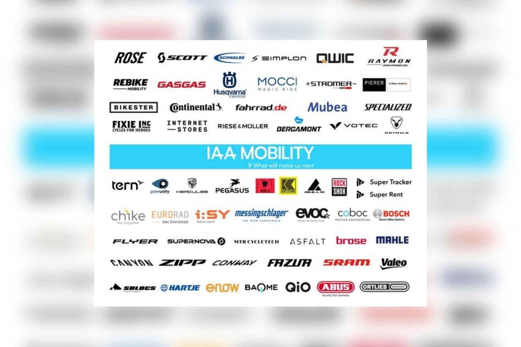 IAA Mobility: Welche Fahrradmarken sind dabei und warum?