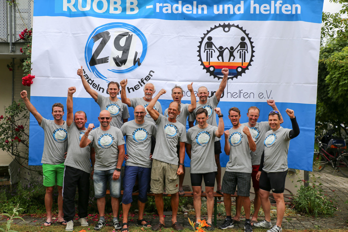 """""""radeln und helfen"""" - 2018 Nonstop durch Deutschland"""