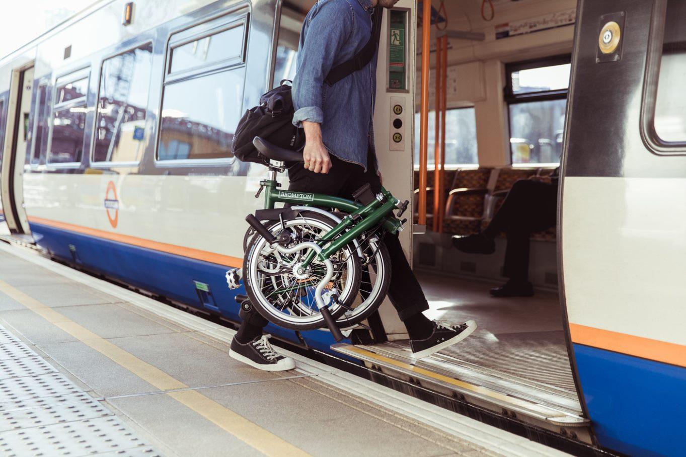 Brompton Bicycle — Falten für mehr urbane Lebensqualität
