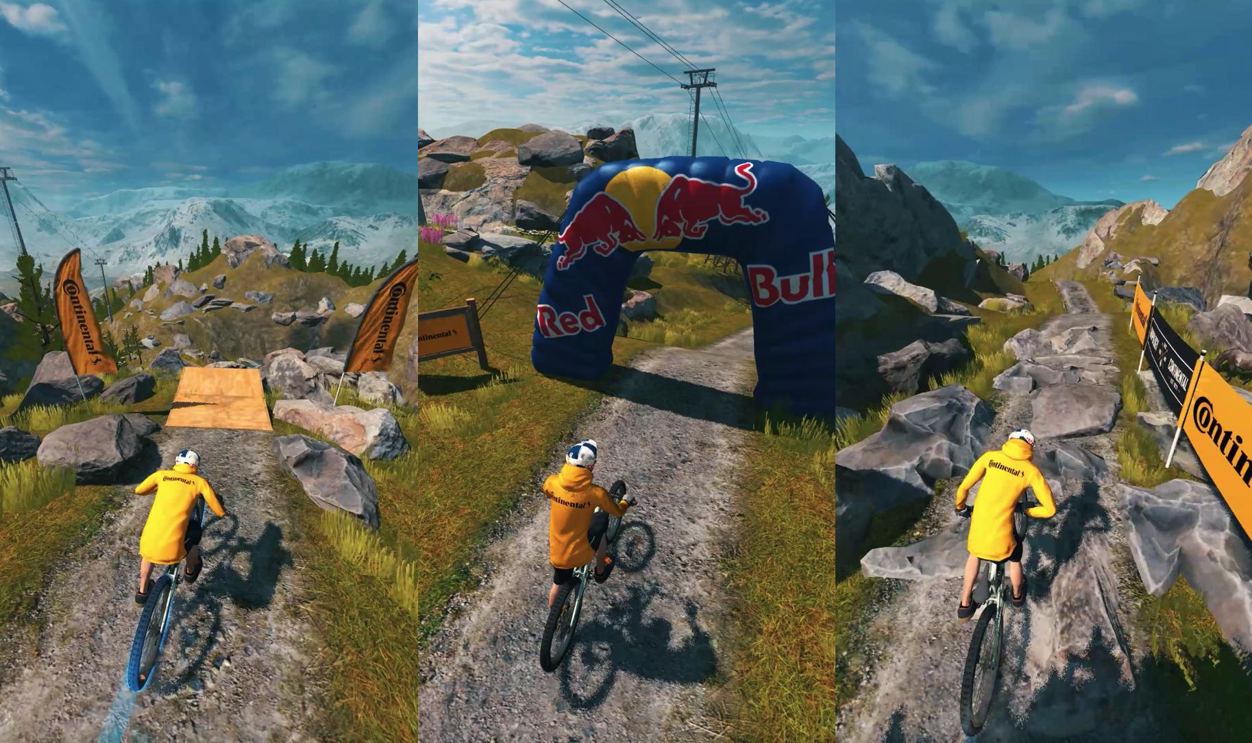 """Continental kooperiert mit MTB-Spiel """"Bike Unchained 2"""" von Red Bull"""