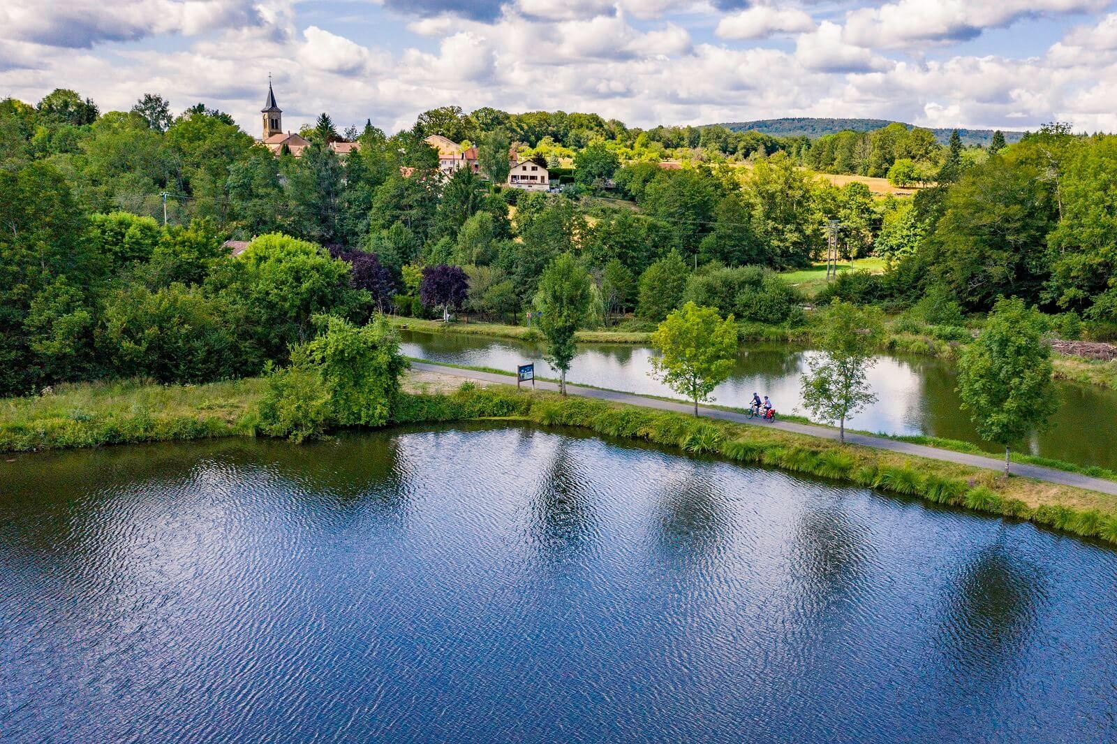 La Voie Bleue: Entlang des Wassers von Luxemburg nach Lyon radeln