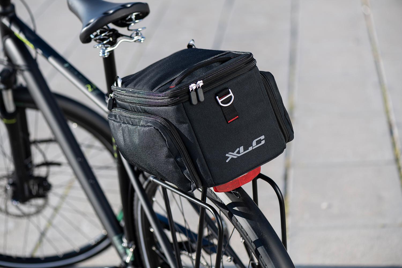 XLC – eine Fahrradtasche kompatibel mit fünf Befestigungssystemen