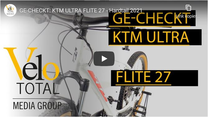 VIDEO: GE-CHECKT - KTM ULTRA FLITE 27 - Hardtail 2021