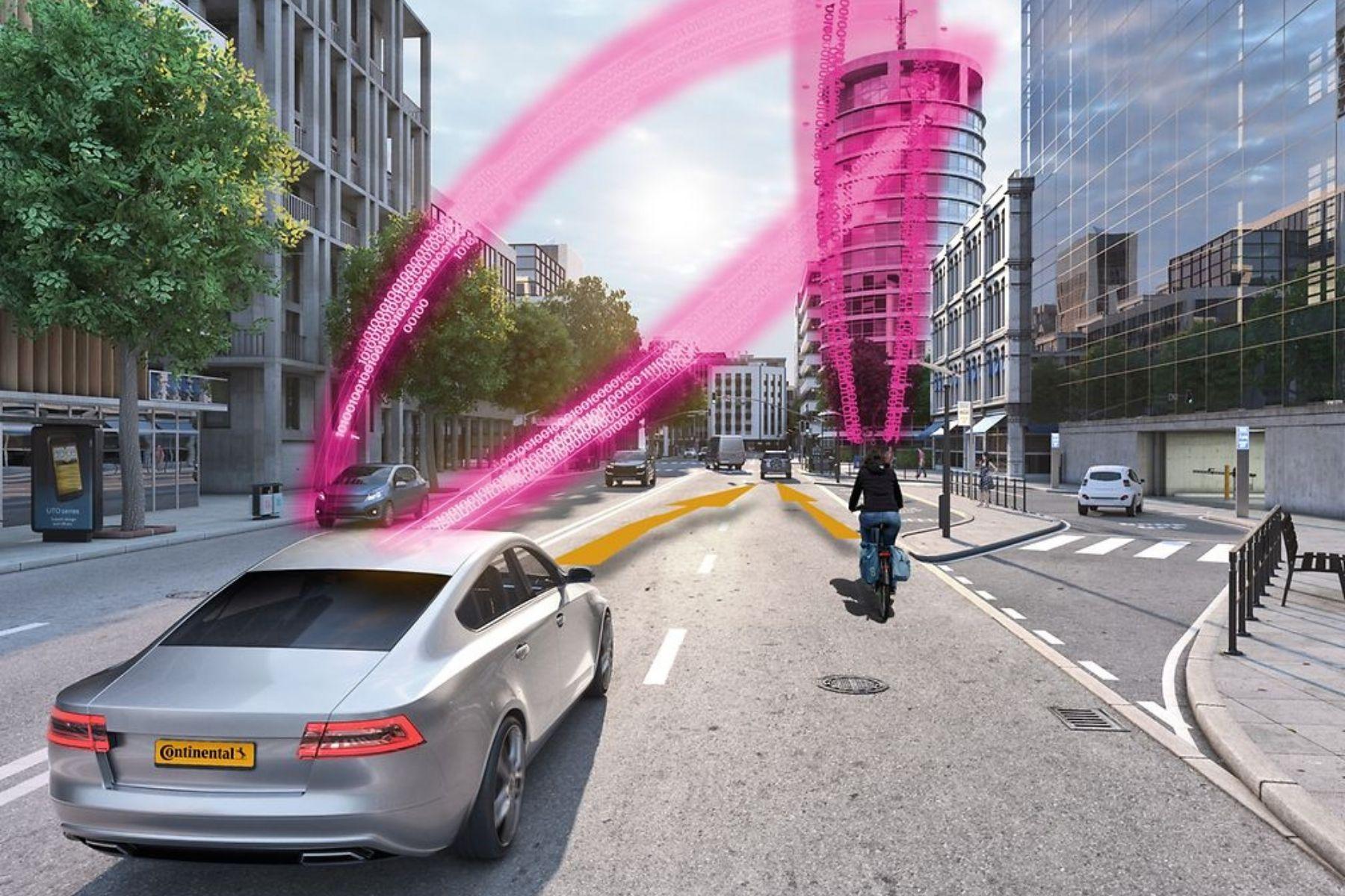Digitaler Schutzengel für Radfahrer