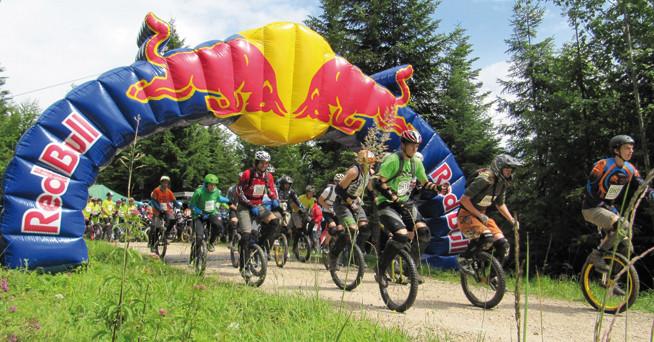 Einrad-Downhill
