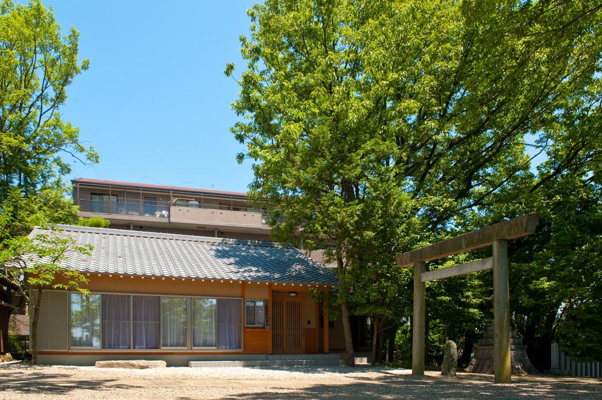 建築施工写真撮影(神社)