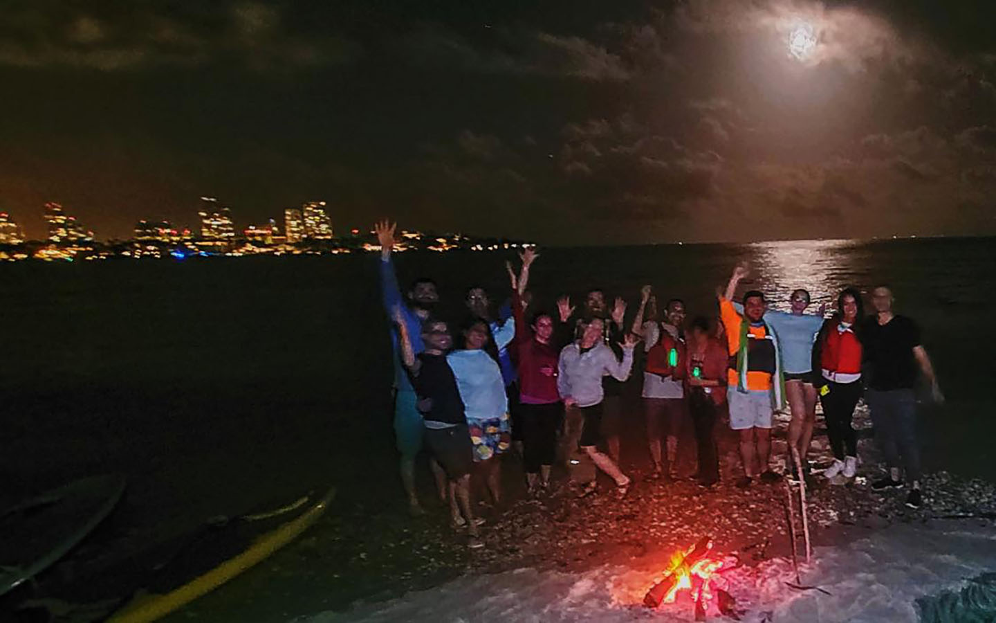 Full Moon Kayak & Paddleboard Tour - January 29th