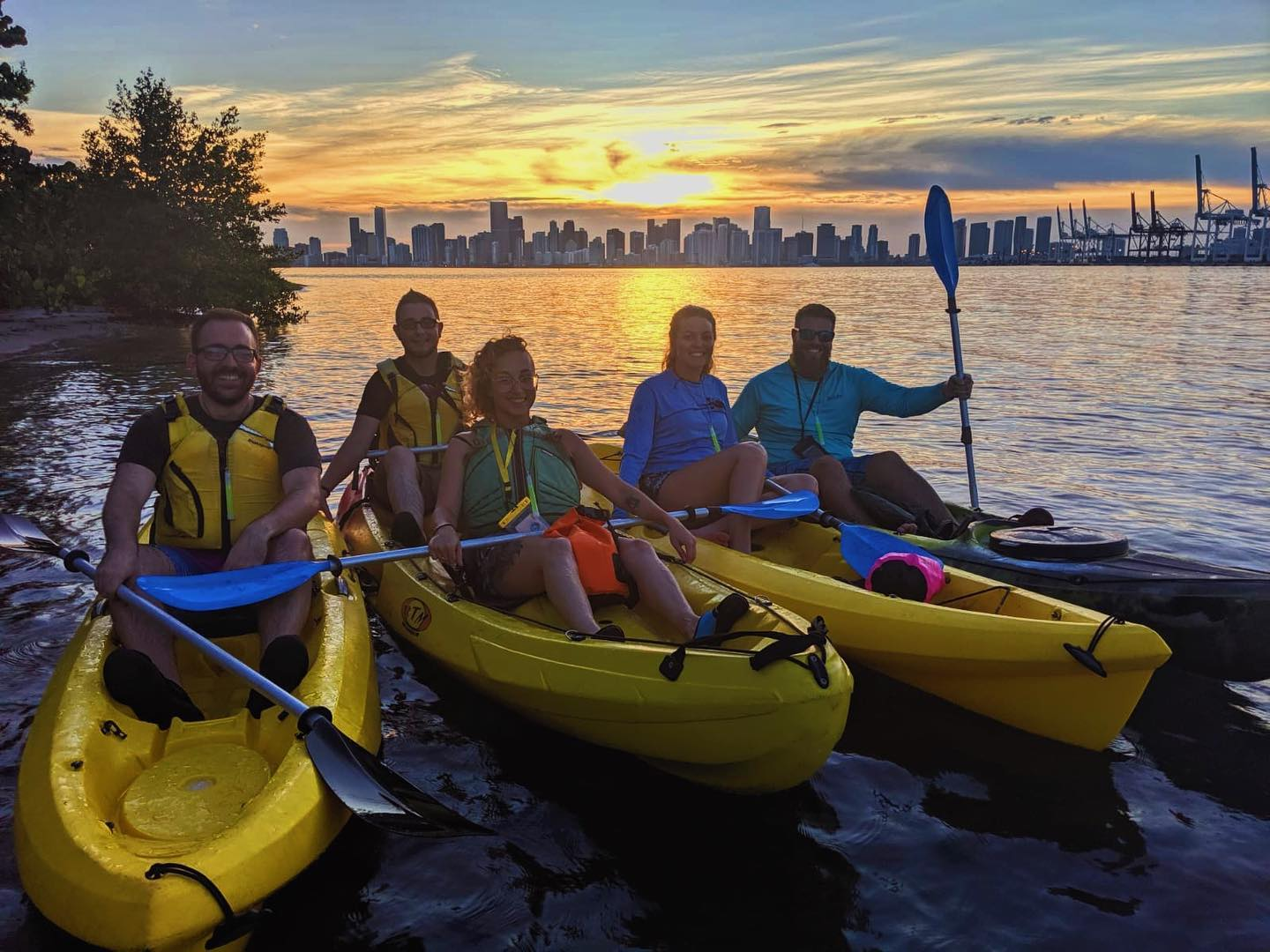 Sunset Kayak & Paddleboard Adventure Tours - April 17th and 24th, May 8th, 15th and 22nd