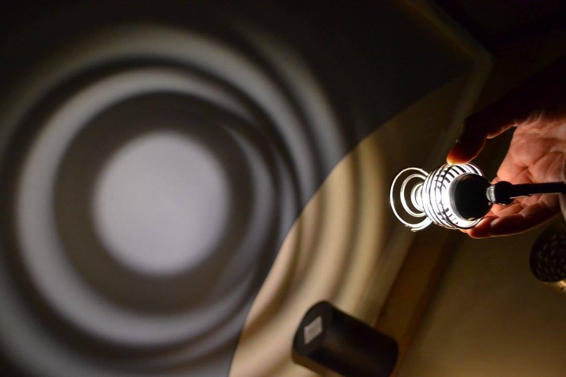Workshop pro ''Les objets manipulés dans la lumière''