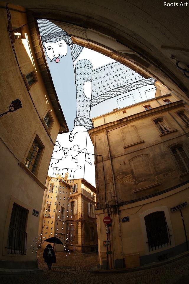 SkyArt Avignon II France 2012