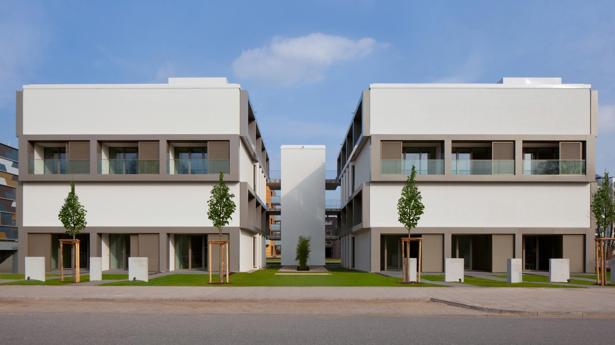 Hybridhaus nach Retusche