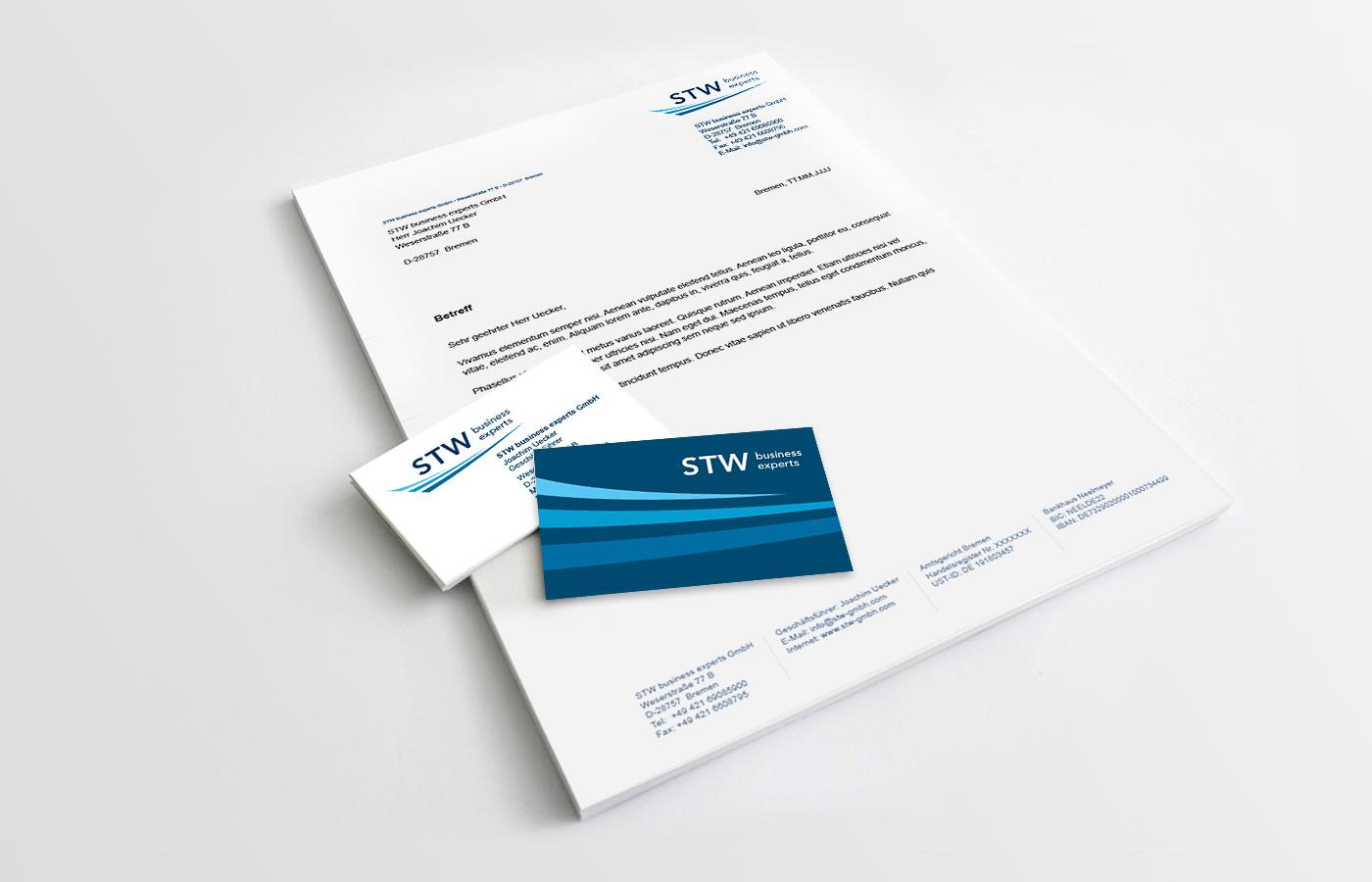 Geschäftsausstattung, STW Business