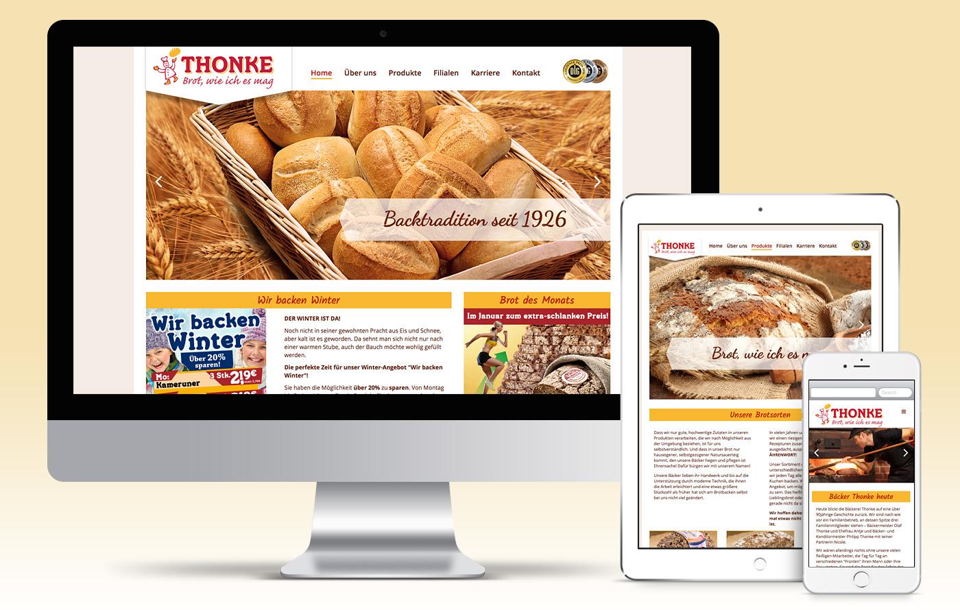 Bäcker Thonke, Rathenow