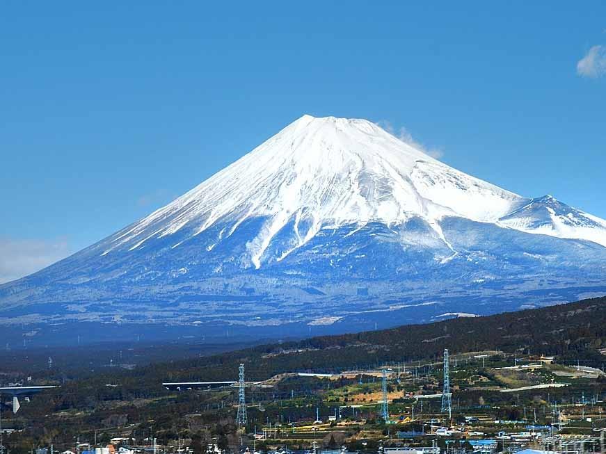 富士山の素晴らしい眺め。