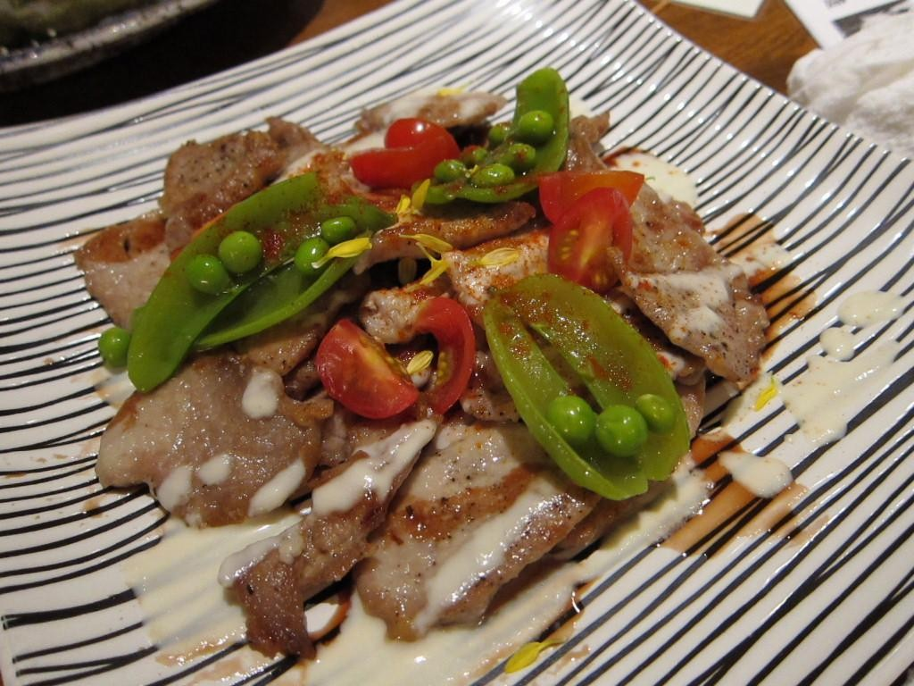 黒毛豚ヘレ肉のエスカロップ