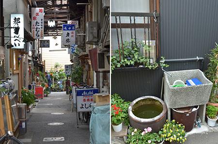 昭和30年代を彷彿とさせる景色がそこかしこに。