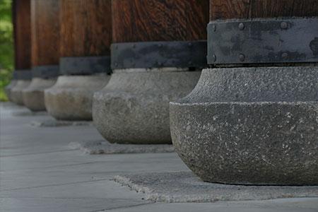 南禅寺の礎。