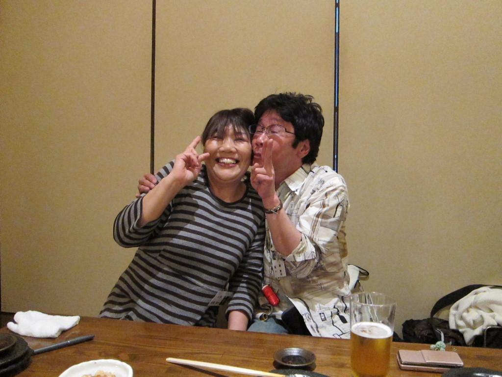 「小学校、中学校、松尾ちゃん、ずっと一緒やったんやん!」と支部長。