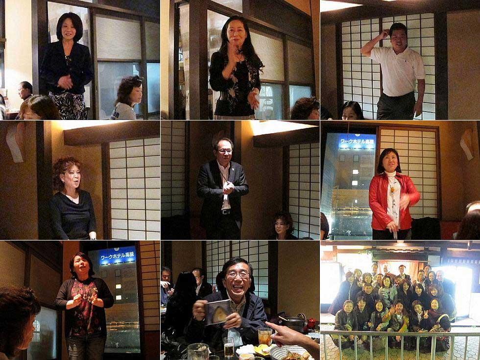 上段の女性は初参戦の山口さん、池田さん