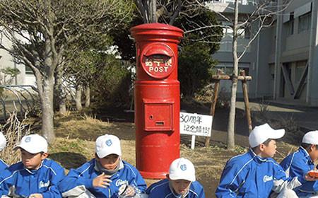 現役バリバリの郵便ポスト