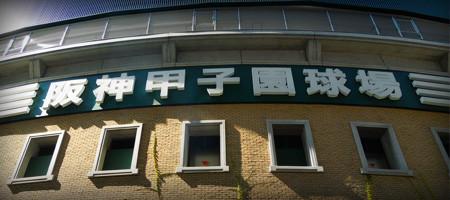 おお~懐かしや、阪神甲子園球場。