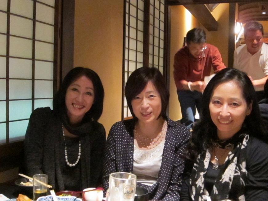 田中さん、有沢さん、そして初登場の池田さん(左から)