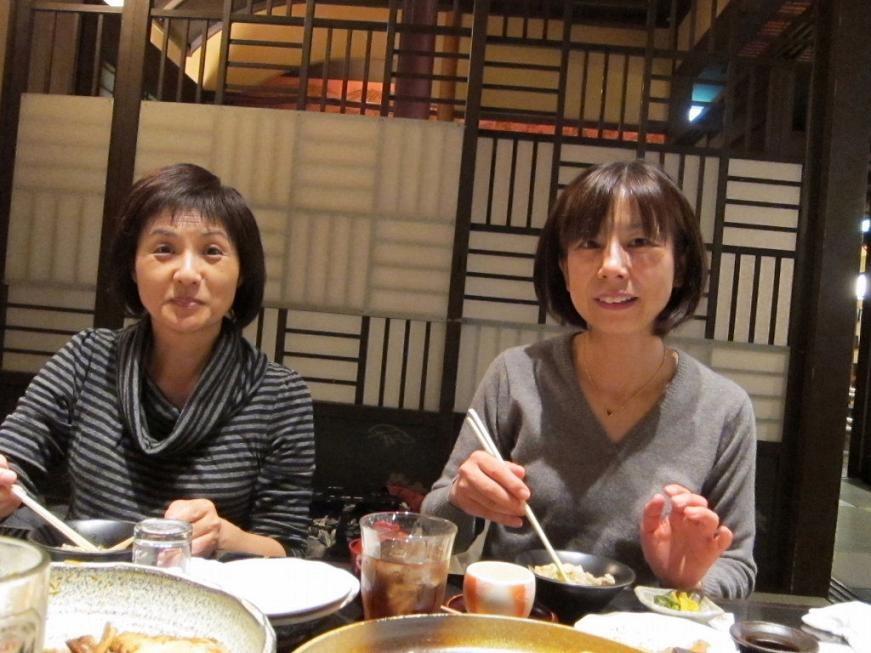 尾野さん(左)と三田から参戦の山本百合子さん←25期初登場