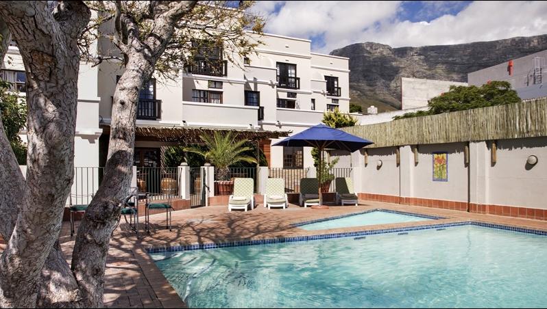 Das Best Western Cape Suites Hotel in Kapstadt ist Ihre Unterkunft während der gesamten Radreise