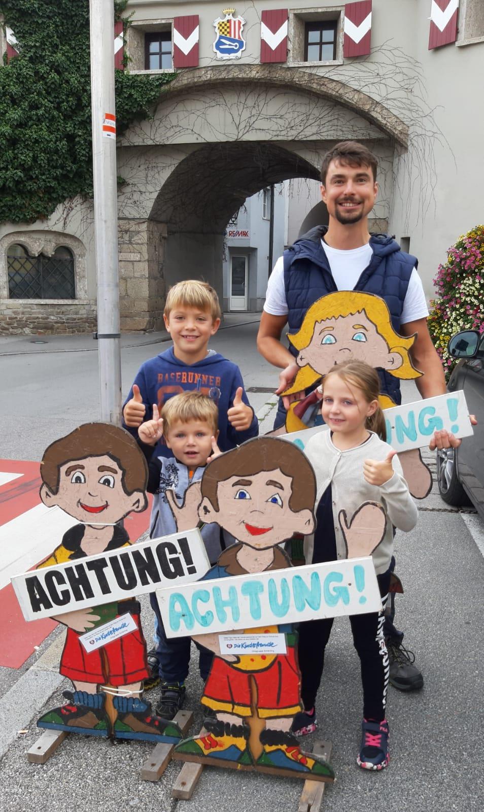 Kinderfreunde Verkehrssicherheit Figuren, Schulanfang, 06.09.19