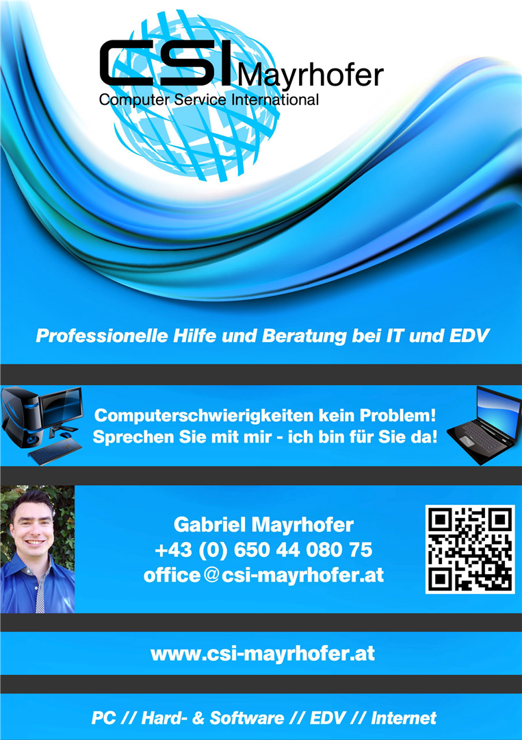 CSI Mayrhofer Flyer