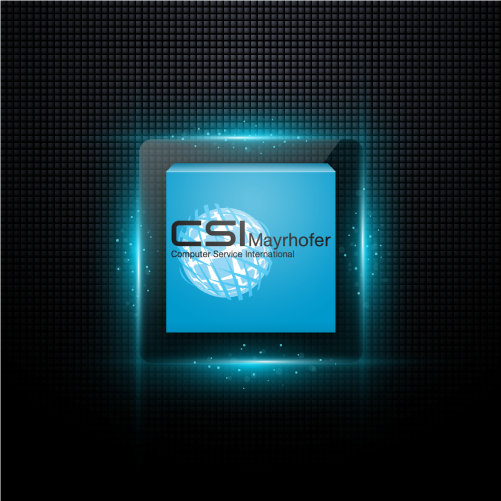 CSI Mayrhofer Quadratisches Logo