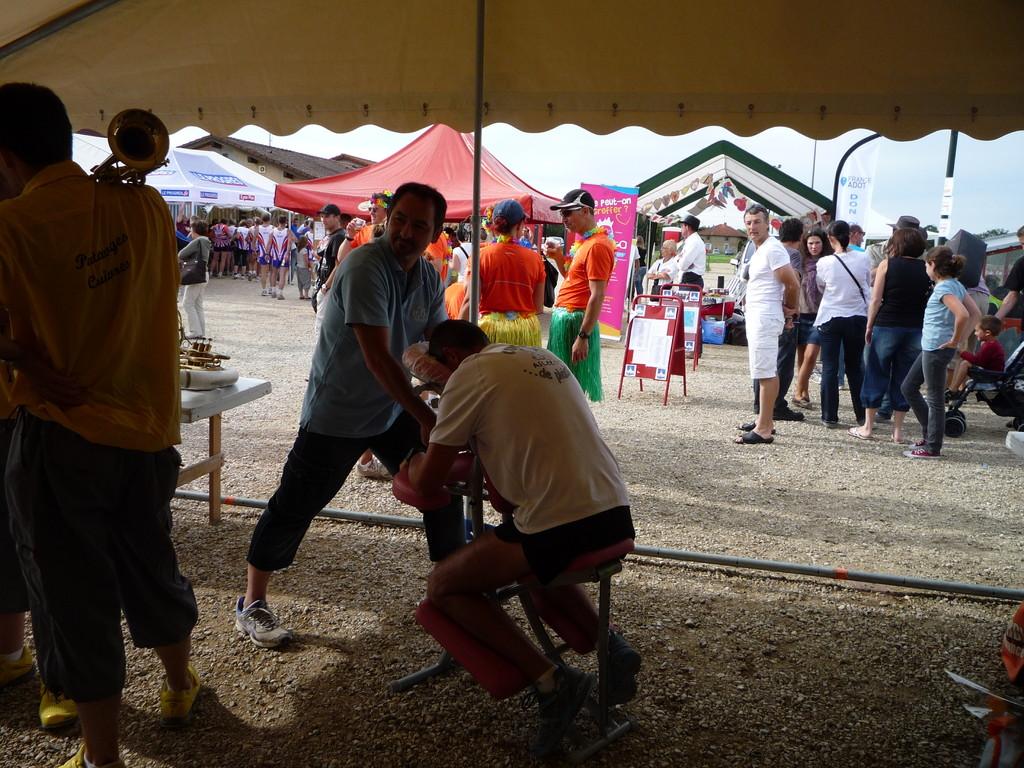 Marathon relais de Viriat 2011