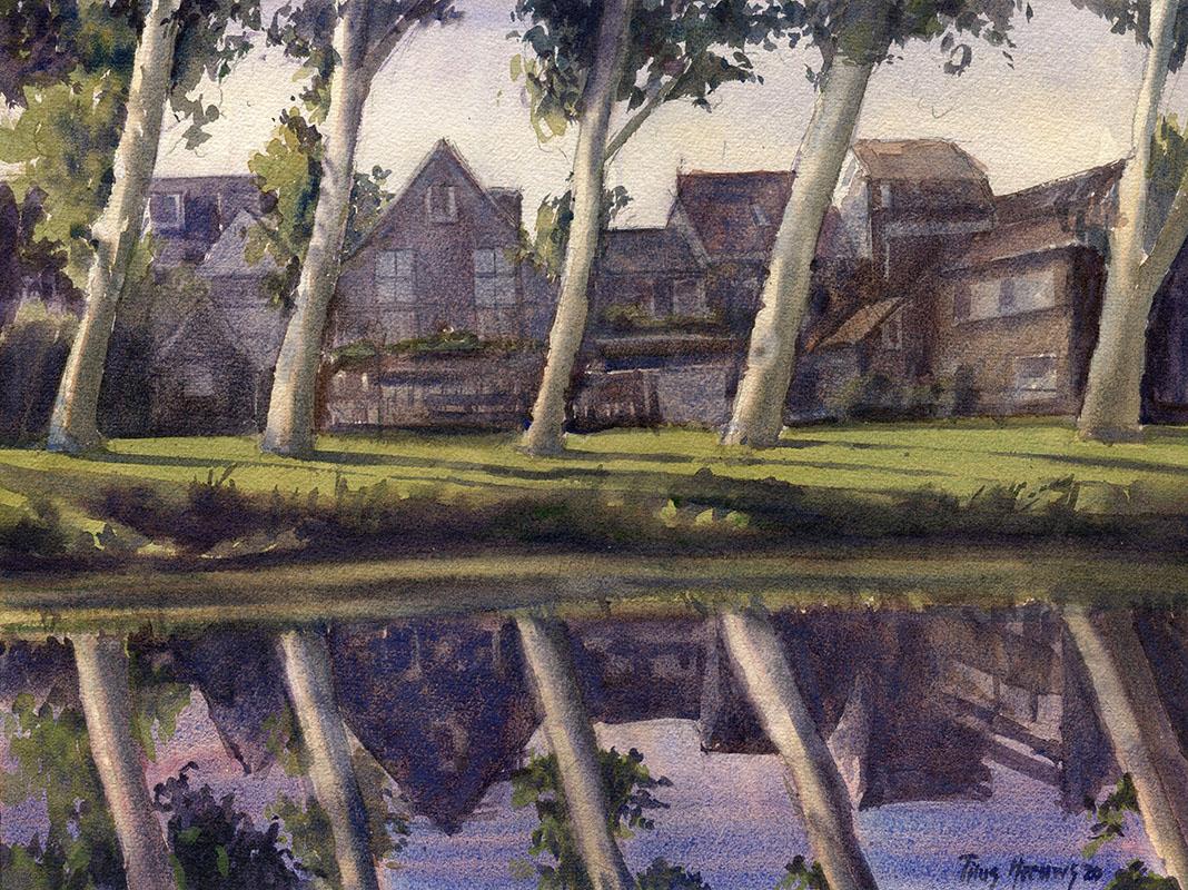 Serie schilderijen in opdracht in Schoonhoven