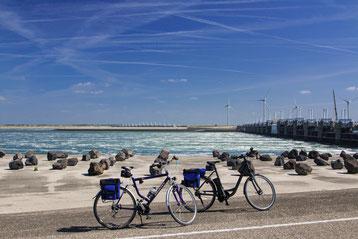 Fahrradtuor an der Osterschelde
