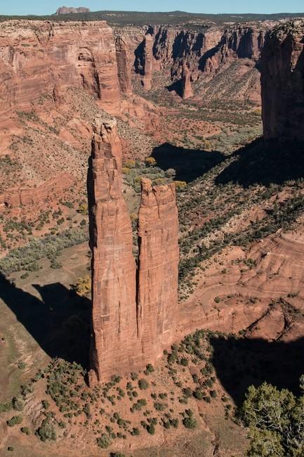 Canyon de Chelly, Spider Rock Overlook