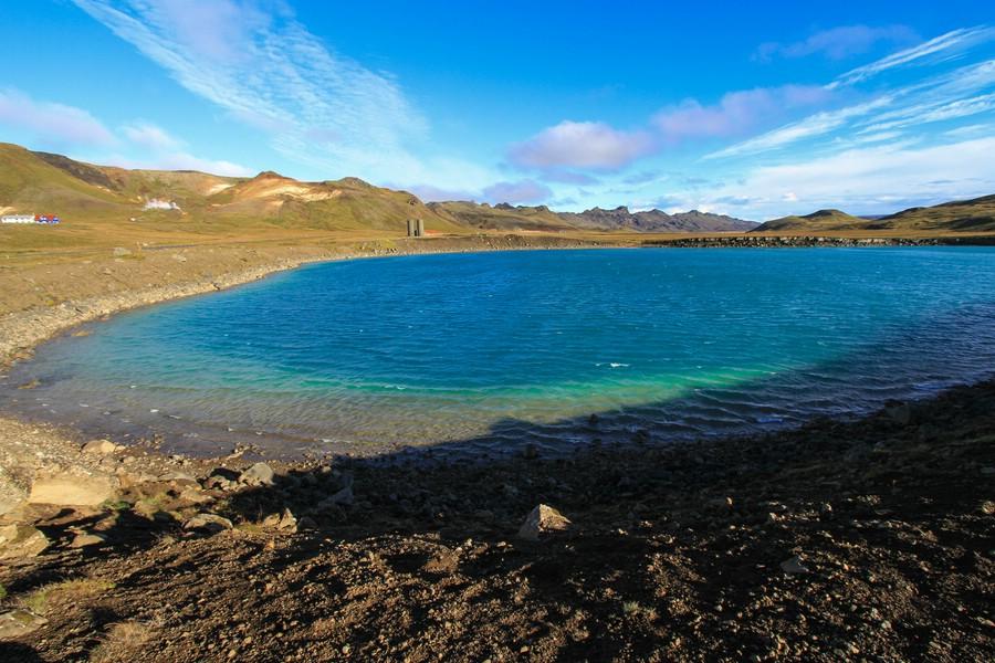 Grænavatn, Iceland