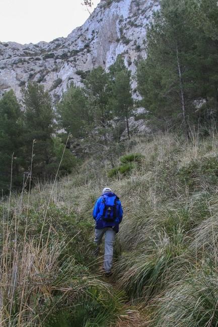 Wanderung Penya Roja