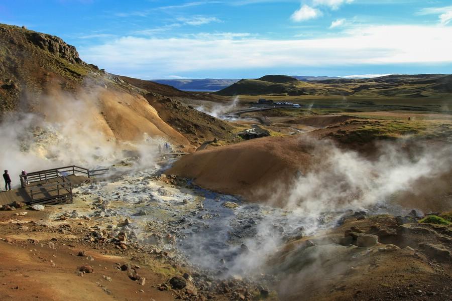 Seltún Geothermal Area, Island