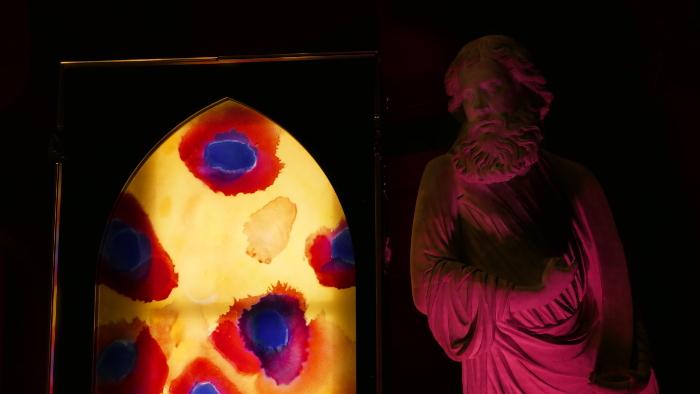Sylvie Lander-Light cases-Palais de la musique et des congrès-Strasbourg-OPS-vitraux-2016