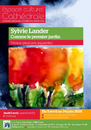 Sylvie Lander-Fleurs-Peinture-Aquarelles-Lumière-#SylvieLander